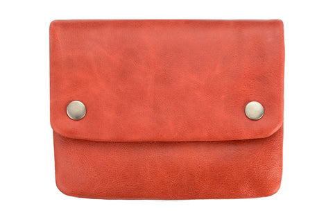 STATUS ANXIETY Norma Leather Wallet Red