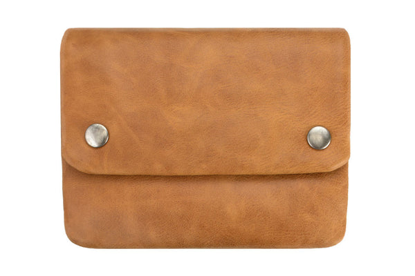STATUS ANXIETY Norma Leather Wallet Tan
