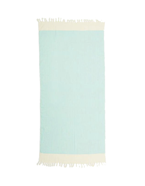 Miz Casa & Co Santorini Turkish Towel Mint Green