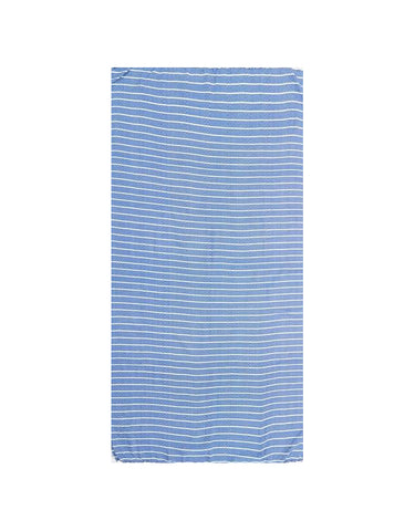 Miz Casa & Co Serento Turkish Towel Blue