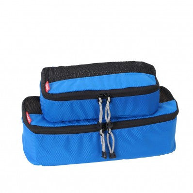 ZOOMLITE Slim Packing Cubes - 2 Piece Set - Blue