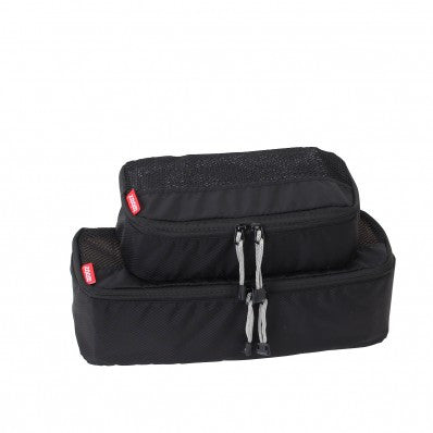 ZOOMLITE Slim Packing Cubes - 2 Piece Set - Black