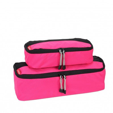 ZOOMLITE Slim Packing Cubes - 2 Piece Set - Pink