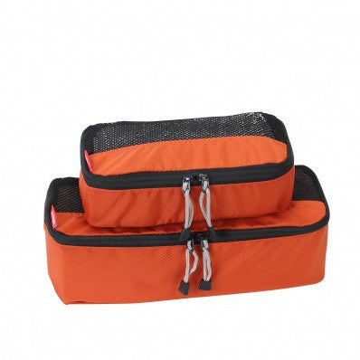 ZOOMLITE Slim Packing Cubes - 2 Piece Set - Rust