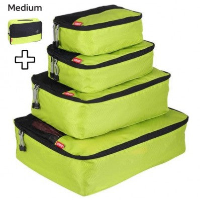 ZOOMLITE SMART PACKING CUBES SET LIME GREEN