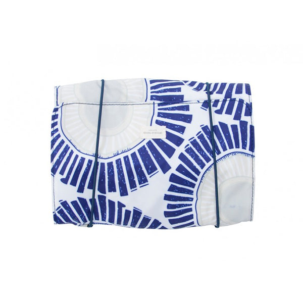 Jewellery Accessory Roll Solar Print Navy Blue
