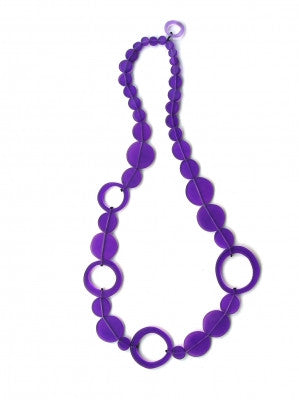 SOLROJO Dots Resin Necklace
