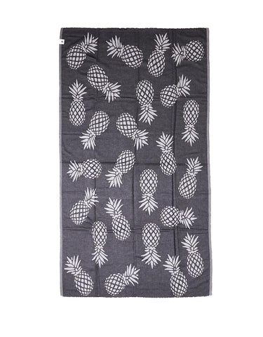 Miz Casa & Co Sunshine Coast Turkish Towel Black