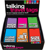 Talking Travel Luggage Tags (Set of 2)
