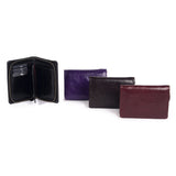 "ORAN LEATHER ""Tilley"" Wallet - SALE - BLACK"