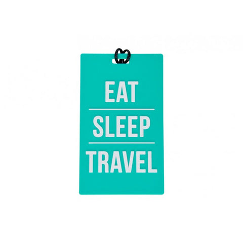 Eat Sleep Travel Luggage Tag