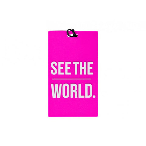 See The World Luggage Tag