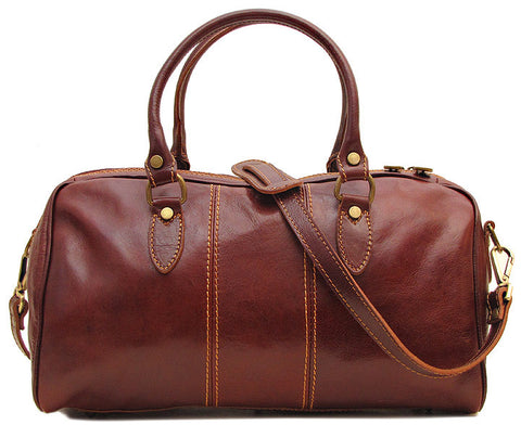 FLOTO Venezia Leather Mini Vecchio Brown