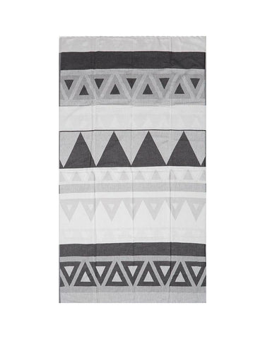 Miz Casa & Co Venice Turkish Towel Black