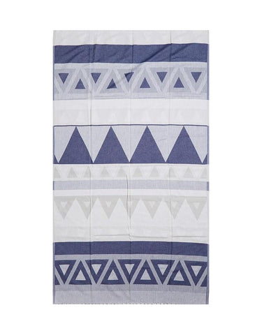 Miz Casa & Co Venice Turkish Towel Navy Blue