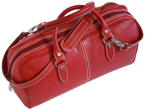 FLOTO Venezia Leather Mini Tuscan Red