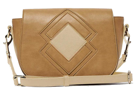 Urban Originals Ventura Crossbody Shoulder Bag Stone Latte Beige