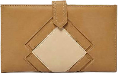 URBAN ORIGINALS VENTURA WALLET LATTE BROWN/STONE CREAM