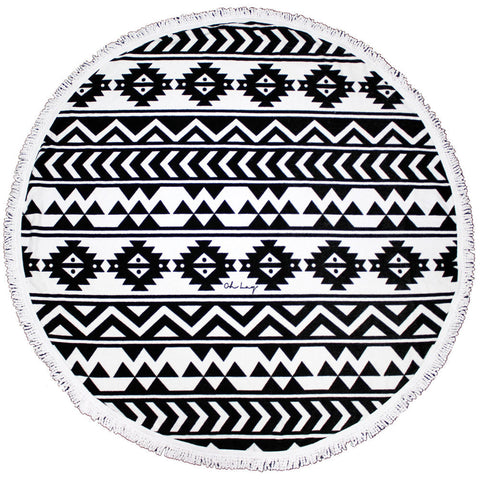 OH LAY Vidorra Round Towel