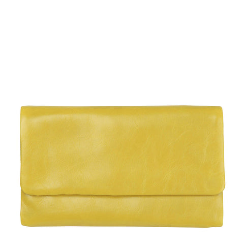STATUS ANXIETY Audrey Leather Wallet Yellow