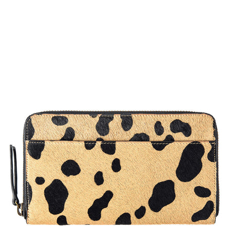 STATUS ANXIETY Delilah Leather Wallet Wild Cat