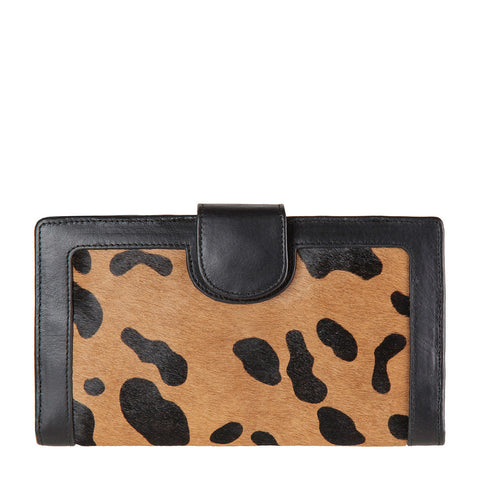 STATUS ANXIETY Doris Leather Wallet Wild Cat