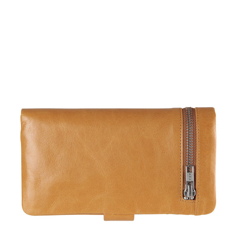 STATUS ANXIETY Esther Leather Wallet Tan