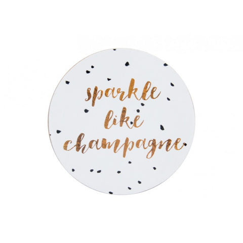 Wine & Champagne Coaster Set