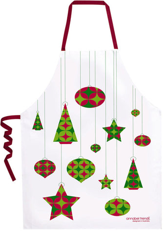 ANNABEL TRENDS Christmas Bauble Apron SALE