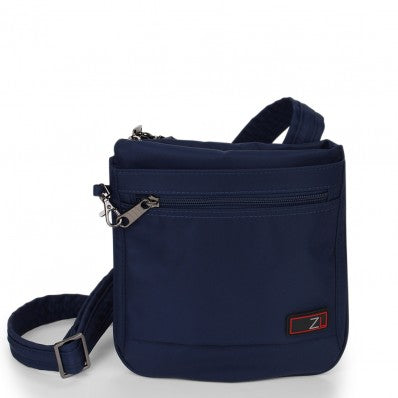 ZOOMLITE ANTI-THEFT SLIM CROSSBODY BAG NAVY BLUE