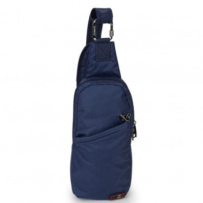 ZOOMLITE ANTI-THEFT ESSENTIALS CROSSBODY SLING BAG NAVY BLUE
