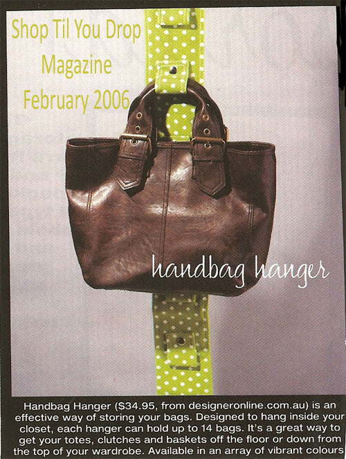 Handbag Hanger Purse Parlour Design