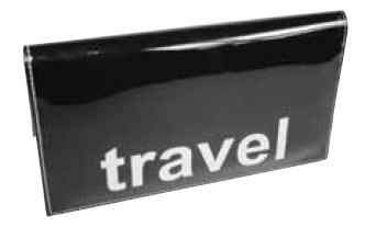 Patent Travel Wallet
