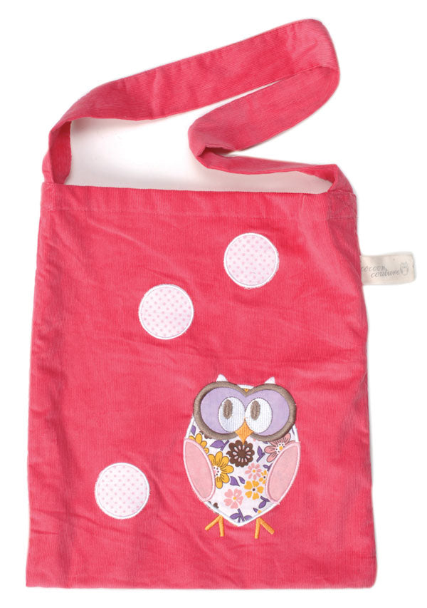Cocoon Couture Sleepy Owl Shoulder Bag