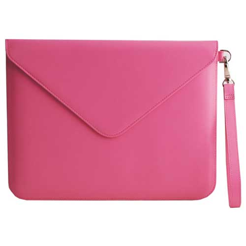 Paperthinks Recycled Leather Tablet Folio Fuchsia