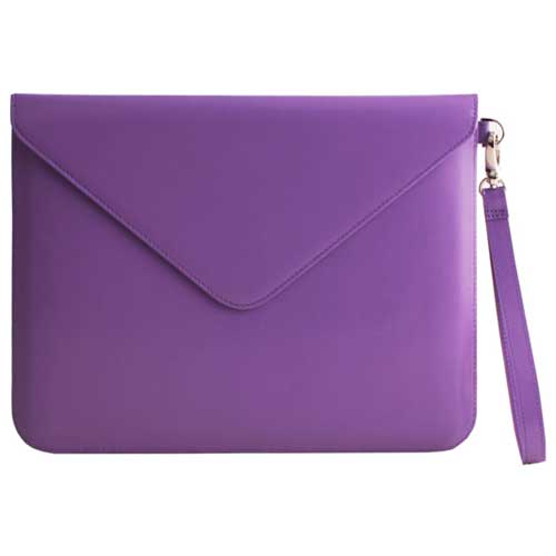 Paperthinks Recycled Leather Tablet Folio Violet