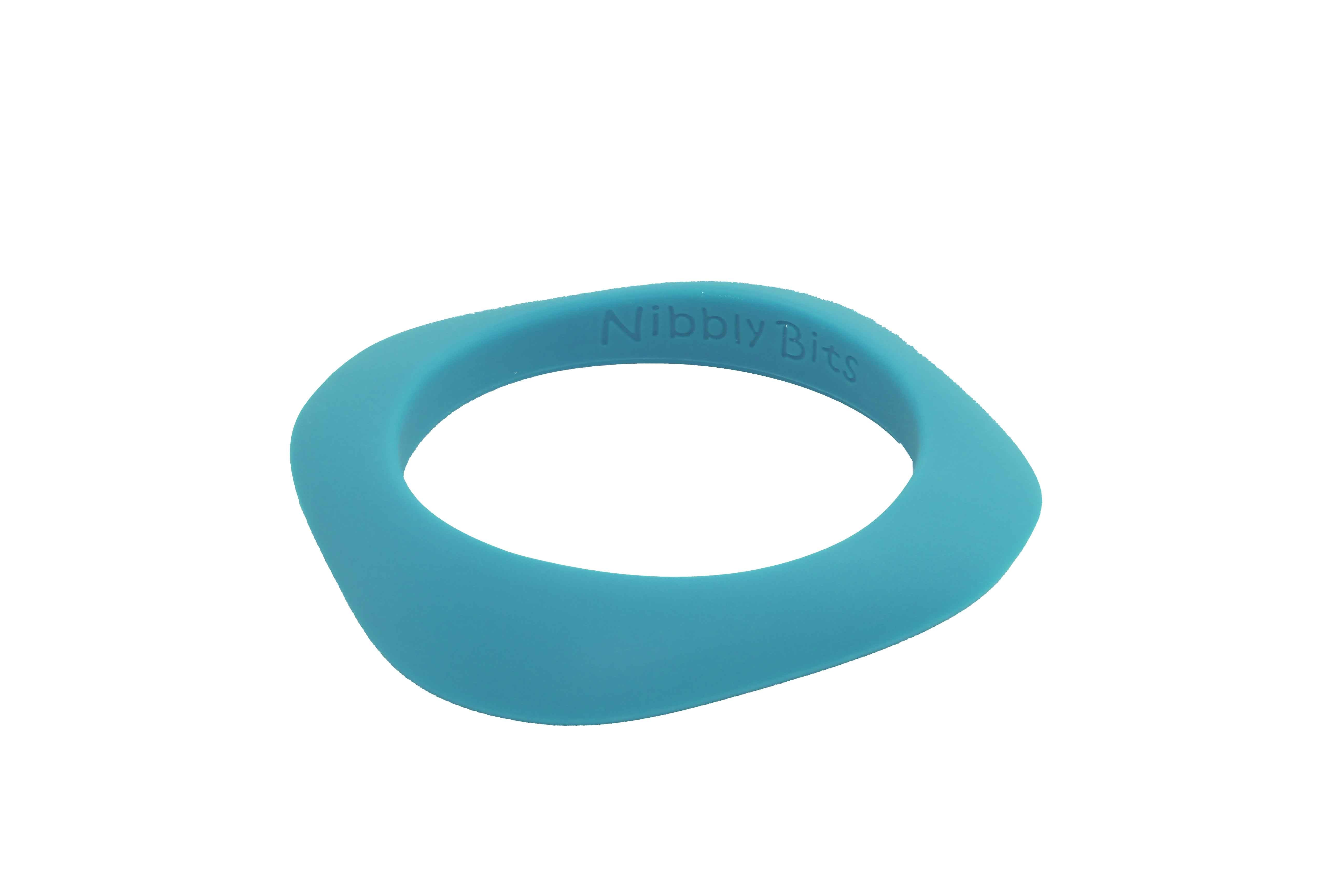 Silicone Lightweight Teething Flat Stackable Bangle
