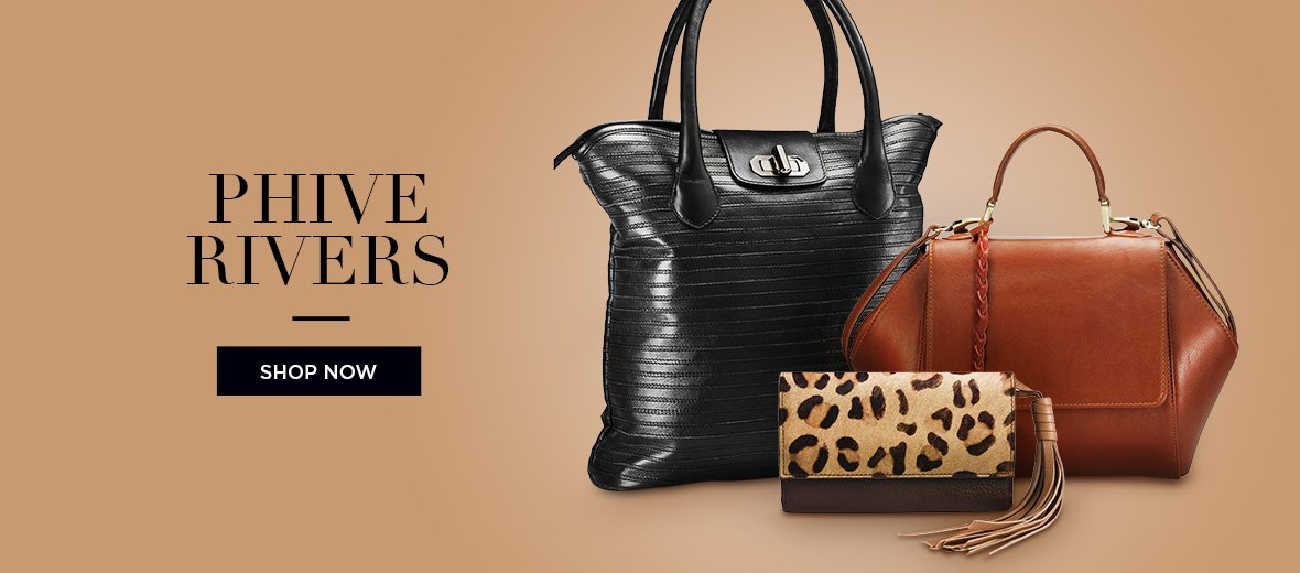 Phive Rivers Leather Handbags