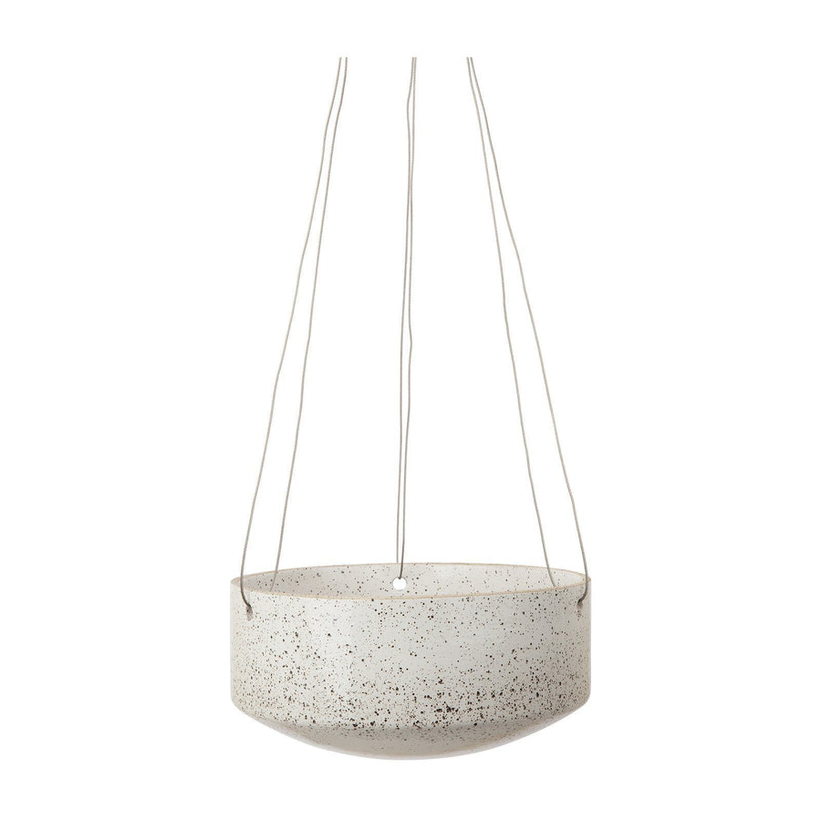 Image of Embers Hanging Planter - White by Zakkia