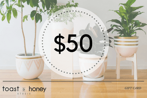 gift card toast & honey studio