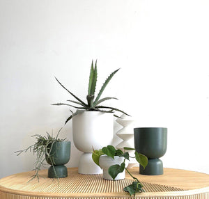 Blanche Planter Chalk by MRD Home - Toast and honey studio