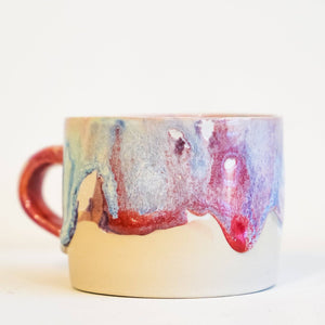 Celestial gloss teacup style 2 by Ceramics by George - Toast and honey studio