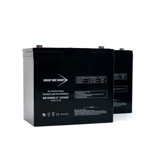 Sealed Lead Acid Batteries - 12V 55AH