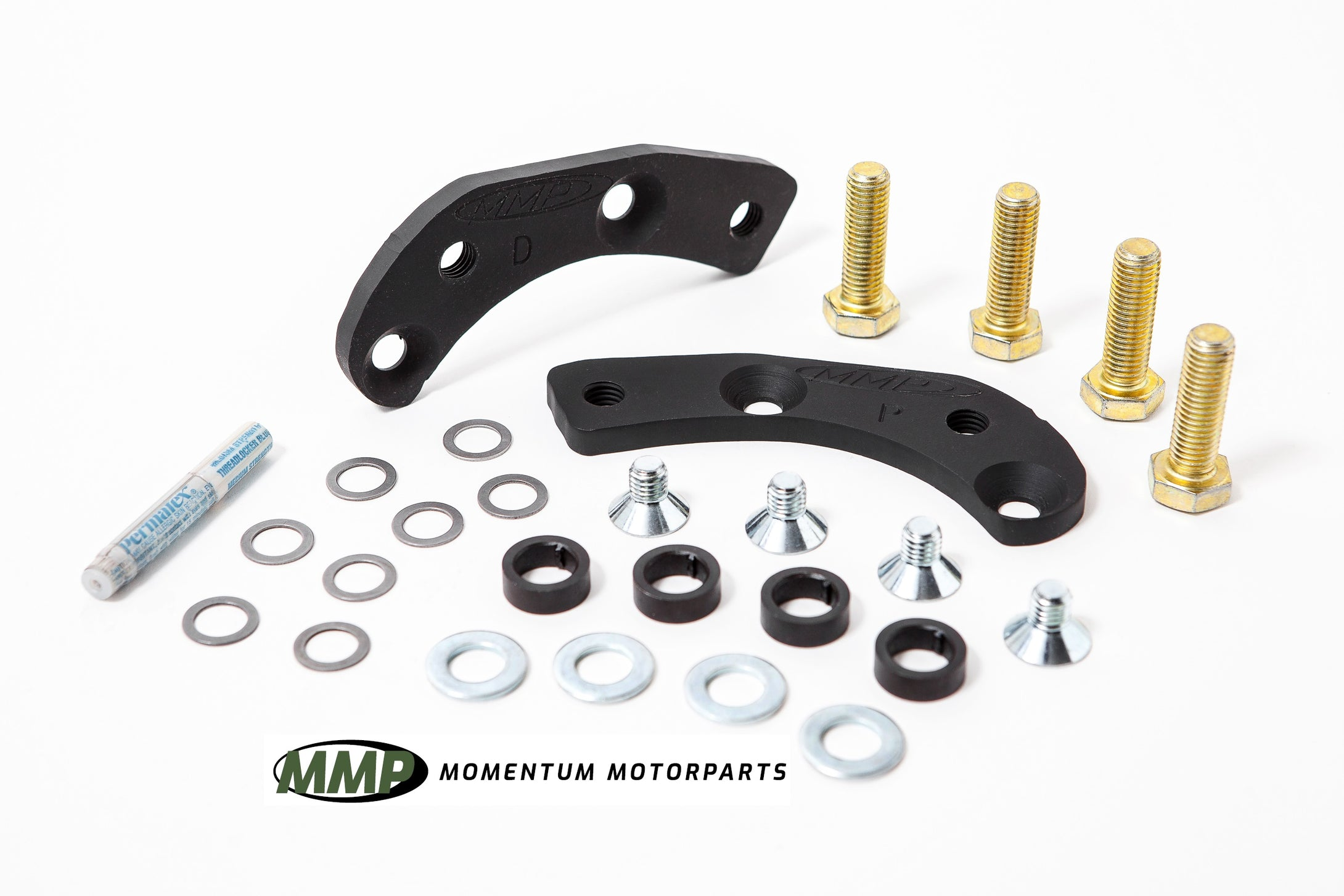 "Mk1 11"" brake caliper adapters. An MMP original, Since 1998"