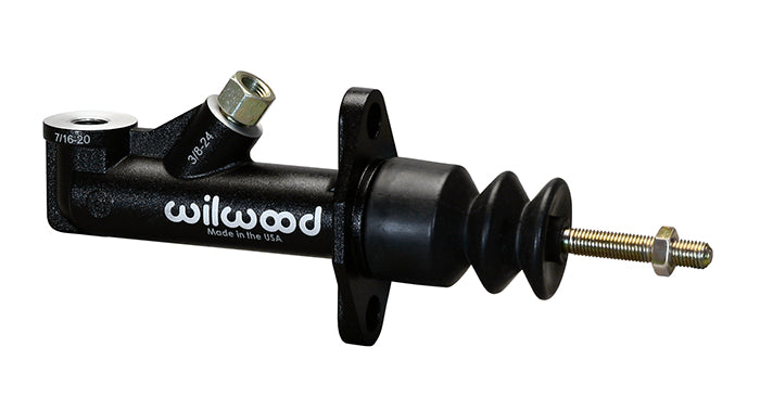 Wilwood GS compact master cylinder with external reservoir  .70