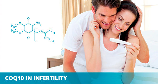 Can CoQ10 supplements help in infertility? | Liposomal CoQ10 | SANUS-q