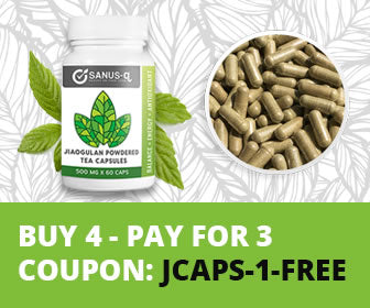 Jiaogulan powdered tea vegetable capsules - Buy 4 pay for 3