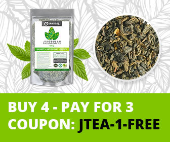 Jiaogulan Loose Leaf Herbal Tea - Buy 4 pay for