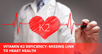 Vitamin K2 deficency and heart health