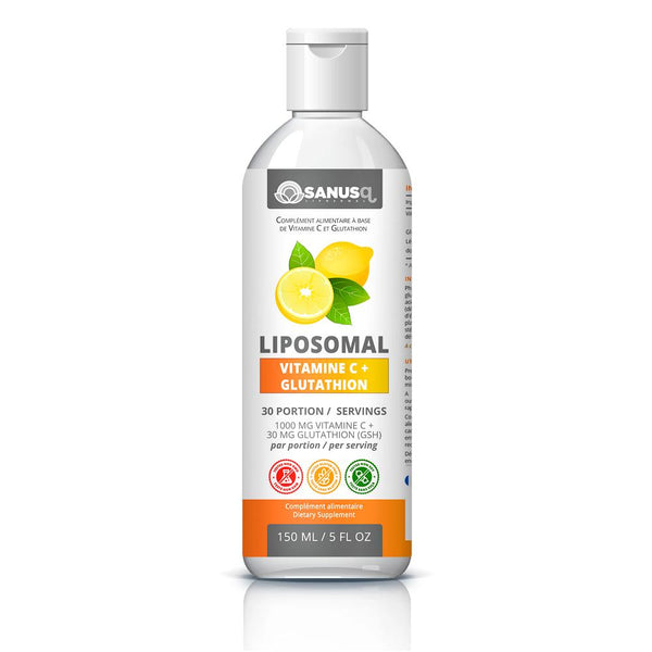 Liposomal Vitamin C with Glutathione - 150ml | SANUS-q